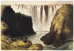 256B_Centre-Rock-Fall-and-the-Eastern-Cataracts-by-Thomas-Baines-July1862