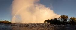 241A_LZmS.295967 After Dawn, Victoria Falls & Rainbow