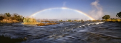 051_LZmS_35 Rainbow & Victoria Falls from upriver