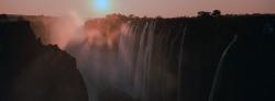 122A_LZmS_0508-09.30 Sunset over Rainbow Falls & Danger Point
