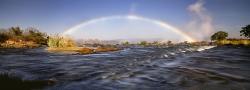 051_LZmS_35 Rainbow & Victoria Falls from upriver