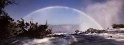 064_LZmS_260 Victoria Falls Rainbow & Bridge
