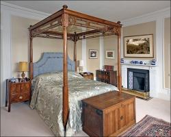 820_Mansion House Bedroom-framed prints